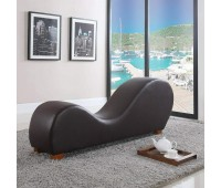 Modern Bonded Leather Yoga Stretch Sex Chair Couch Loveseat Exotic Furniture